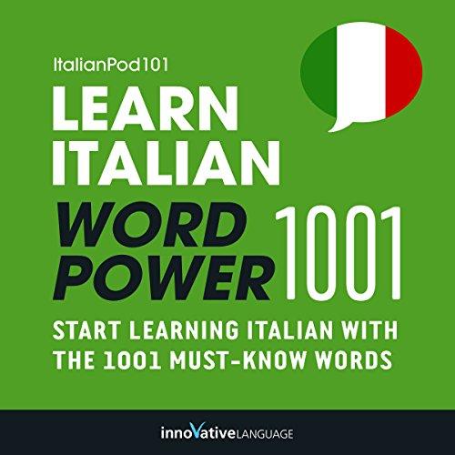 Learn Italian - Word Power 1001 cover art