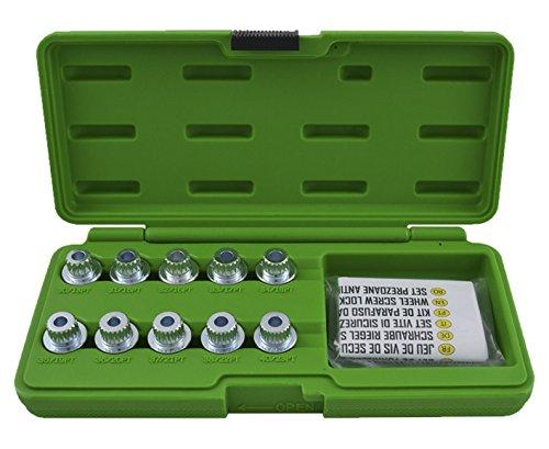 JBM 52802 Set Extractor de Tornillos de Seguridad