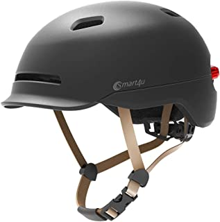 smart4u Smart Bike Helmet with 3 Types of Alert Lights,Smart&Safe Bling Helmet,Comfortable, Lightweight, Breathable&Waterproof Cycling Helmet