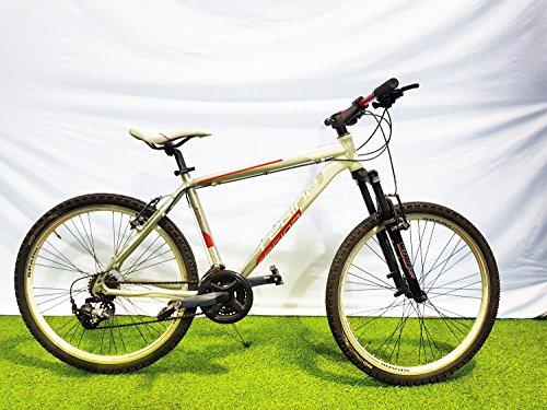 REGINA Bici Bicicletta MTB 26 Spark 21V Cambio REVOSHIFT Bianco-Rosso