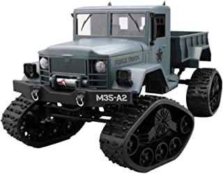 RC Hobby Toys Military Truck Off-Road Sport Cars Gifts for Kids and Adults