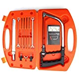 Handsaw Set, 11 in 1 Multi Purpose DIY Bow Saw Hacksaw Universal Saw Woodworking Tool (Orange)