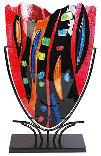 DEPICE bokaal glazen vaas mozaïek, 47 cm