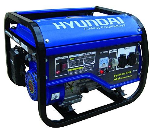 Hyundai HG2200-A Groupe électrogène de chantier 2000/2200 W
