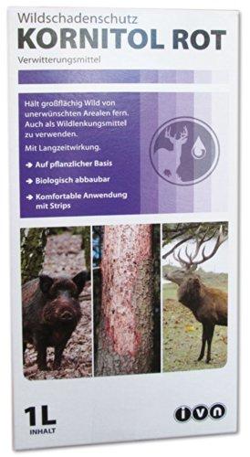 KORNITOL ROT 23021 Wildschadenschutz Verwitterunsgmittel 1 Liter