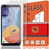 【2枚セット】楽天モバイル Galaxy A7 ガラスフィルム Galaxy A7 2019/2018 フィルム 日本旭硝子製 強化ガラス 液晶 保護フィルム 2.5D 硬度9H 防指紋 強力吸着 保護フィルム (2枚 Galaxy A7)