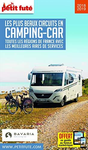 Petit Futé Les plus beaux circuits en camping-car : Toutes les régions de France avec les meilleures aires de services (THEMATIQUES)