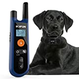Advanced Dog Training Collar W/Remote for Small Medium Large Dogs, 3 Training Mode, Beep, Vibration and Shock, Waterproof Rechargeable Dog Training Set, 1000foot Remote Range, 0~99 Shock Levels