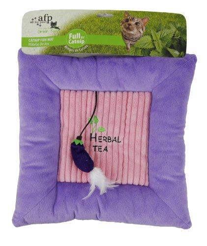 Green Rush – Catnip Fun Mat – Chat Coussin avec cataire – Violet