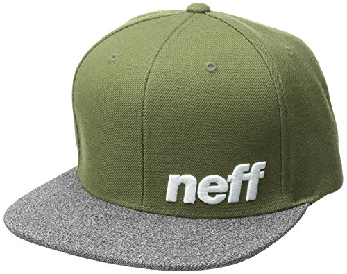 Neff Unisex Daily Baseball-Cap, Oliv/Grey, one Size