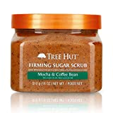 Tree Hut Sugar Scrub Mocha & Coffee Bean, 18oz, Ultra Hydrating and Exfoliating Scrub for...