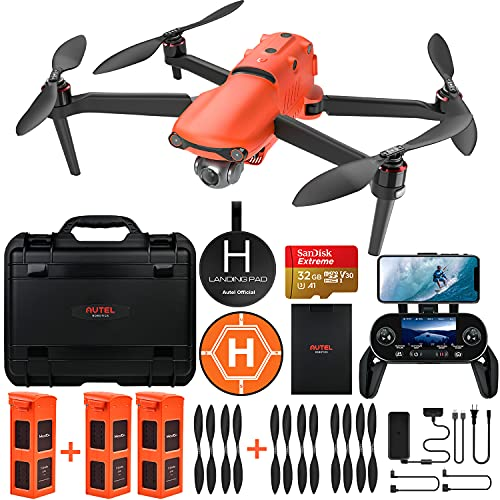 Autel Robotics EVO 2 Drone 8K HDR Video Rugged Bundle with $498 Value Accessories Kit (2021 Newest...