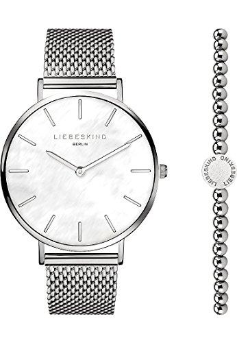 Liebeskind Berlin Damen-Uhren-Sets Analog Quarz One Size Edelstahl 87501167
