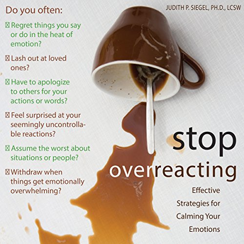 Couverture de Stop Overreacting