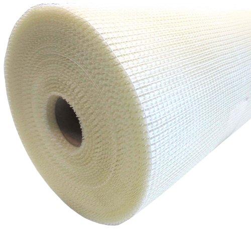 Armierungsgewebe 50cmx100m ca. 75 g/m² weiß Innenputz 5x5mm Maschenweite Glasgittergewebe Gewebe