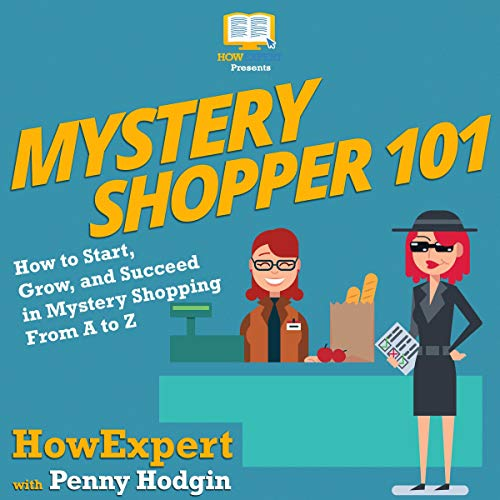 Mystery Shopper 101 audiobook cover art