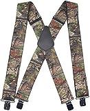 Camo Suspenders for Men & Women Tactical...