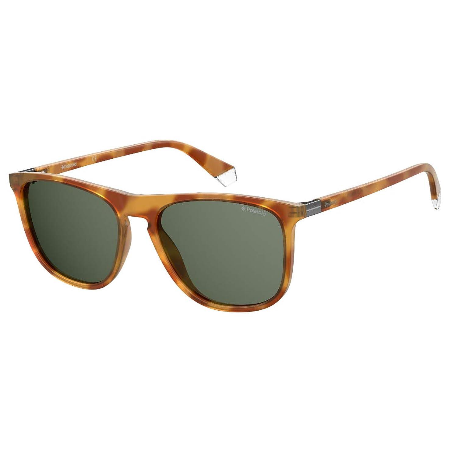 治療アラブ人航空Sunglasses Polaroid PLD 2092/S C9B UC HVN HONEY (GREEN PZ) 56-18