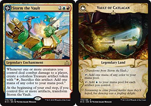Storm The Vault // Vault of Catlacan - Rivals of Ixalan