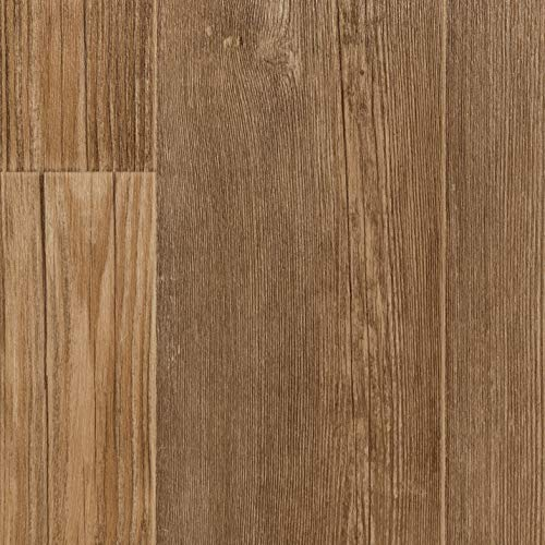 TAPETENSPEZI PVC Bodenbelag Landhausdiele Eiche Weiß | Vinylboden in 4m Breite & 6,5m Länge | Fußbodenheizung geeignet | Vinyl Planken strapazierfähig & pflegeleicht | Fußbodenbelag Gewerbe
