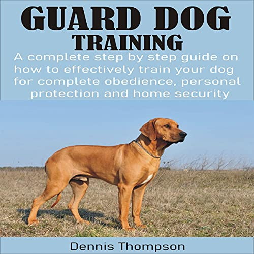 Guard Dog Training cover art