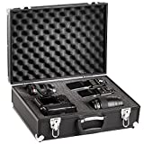 Solidguard by Brubaker Pro Camera Aluminium SLR Hard Case Padded For Digital SLR Cameras Black