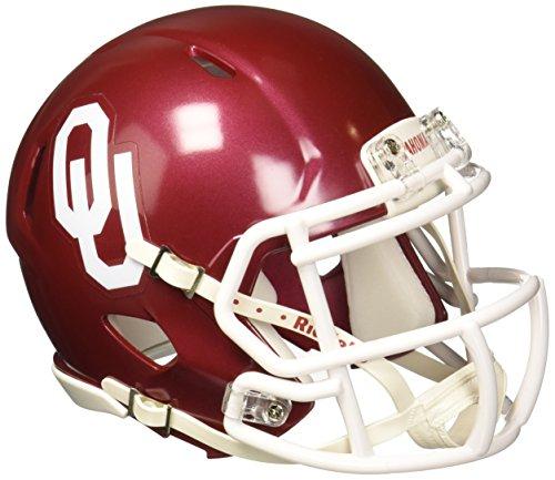 """Riddell NCAA Oklahoma Sooners Speed Mini Helmet, 7.5"""" x 6.5"""""""