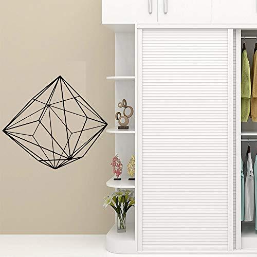 Hetingyue muurstickers, modern, geometrisch, diamant, lijn, decoratie van het huis, vinyl, muurstickers, kleuterschool, slaapkamer, decoratie, papier
