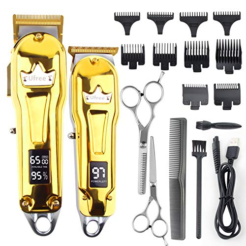 Ufree Hair Clippers for Men Barber Clippers Trimmer Set for Hair Cutting...