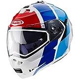 Caberg Duke II Impact bianco/blu/rosso casco moto Taglia M