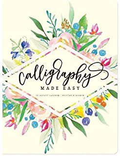 Calligraphy Made Easy Book - Piccadilly Multi-Colored
