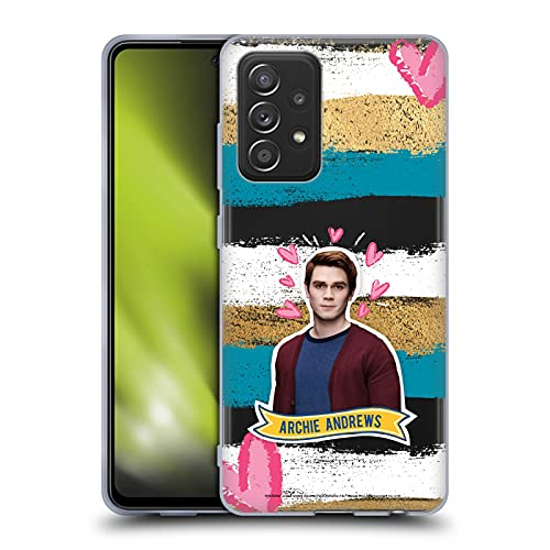 Head Case Designs Officially Licensed Riverdale Archie Andrews Graphics Soft Gel Case Compatible with Galaxy A52 / A52s / 5G (2021)