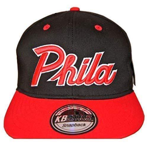 KBETHOS - Gorra de béisbol - para hombre multicolor Phila Black/Red Talla...