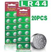 Beidongli Brand AG13 LR44 357 303 SR44 Battery 1.5V Button Coin Cell Batteries 20pack 40pack (20pack)
