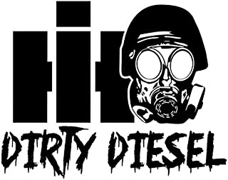International Dirty Diesel Decal Sticker - Peel and Stick Sticker Graphic - - Auto, Wall, Laptop, Cell, Truck Sticker for Windows, Cars, Trucks