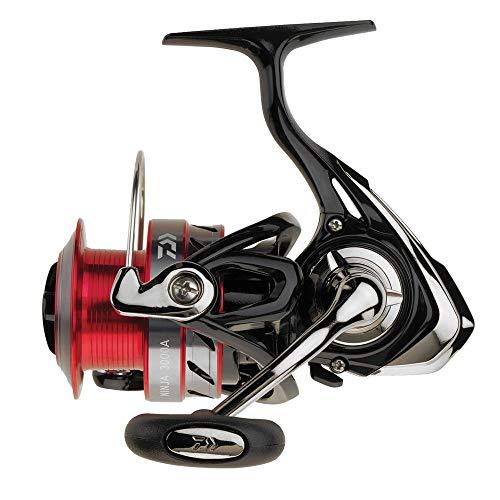 Daiwa Ninja 2500A, Mulinello da pesca, Frizione Anteriore, 190m-0.25mm, Peso 270 grammi, max 4 kg