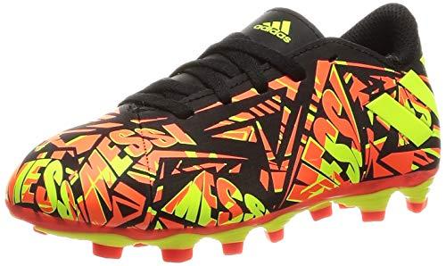 adidas Nemeziz Messi .4 FxG J, Zapatillas de fútbol, Rojsol/Amasol/NEGBÁS, 28 EU