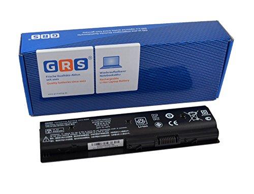 GRS Batteria per HP Pavilion M4, HP Envy M6, HP dv7, HP dv6, dv4, Compatibile HSTNN-LB3P, 671567-831, MO06, HSTNN-YB3N, MO09,LB3N, TPN-W106, LB3P, TPN-W107 M006, M009 4400mAh/49Wh, 11,1V