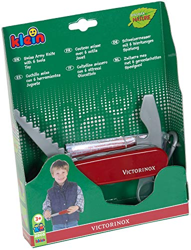 Theo Klein 2805 Spielzeug, Victorinox Schweizer Taschenmesser, rot