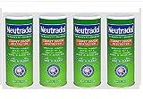 Neutradol - 4 cubos de basura para alfombras súper frescas para eliminar olores, 350 g