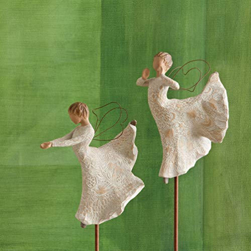 Willow Tree Song of Joy Angel, Sculpted Hand-Painted Figure