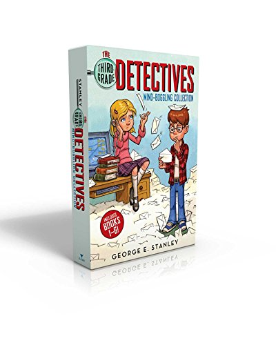 Compare Textbook Prices for The Third-Grade Detectives Mind-Boggling Collection: The Clue of the Left-Handed Envelope; The Puzzle of the Pretty Pink Handkerchief; The Mystery of ... the Stolen Sand; The Secret of the Green Skin Boxed Set Edition ISBN 9781481477390 by Stanley, George E.,Murdocca, Salvatore