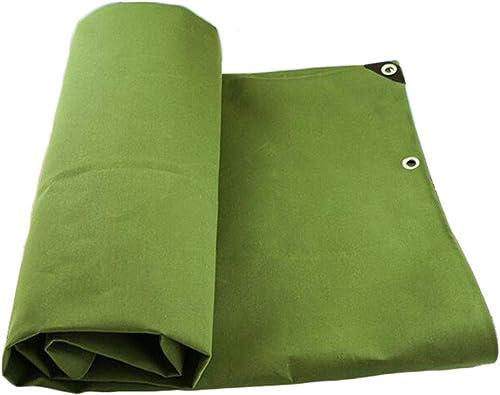 Yuke La bache Usine imperméables Vertes Fortes Couvre Le Polyester 450g   résistant (Taille   5m6m)