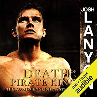 Death of a Pirate King audiobook cover art