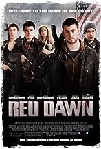 RED DAWN MOVIE POSTER 2 Sided ORIGINAL 27x40 CHRIS HEMSWORTH