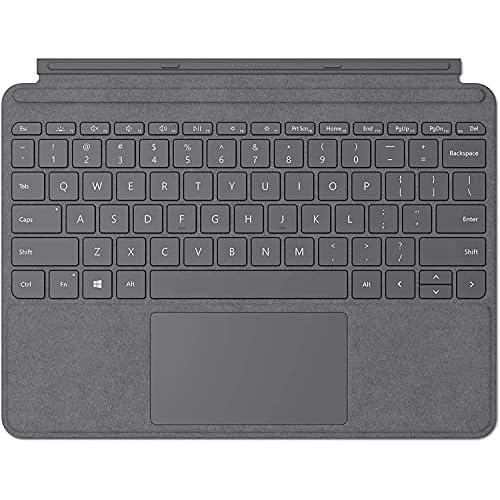 Microsoft Surface Go Signature Type Cover Tastiera per Surface Go, Argento (Platinum)