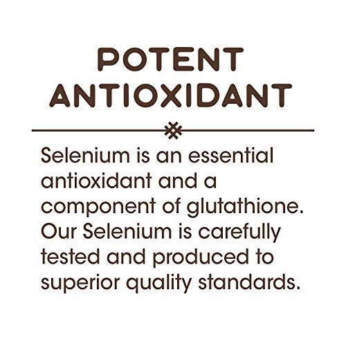 Nature's Way Selenium 200 mcg; L-selenomethionine; 100 Capsules