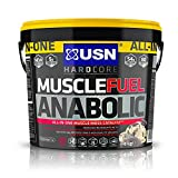 USN Fuel Anabolic Lean Muscle Gain Shake Powder Cookies and Cream, 4 kg