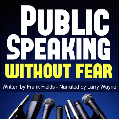 Public Speaking Without Fear audiobook cover art