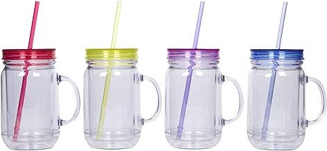 Best plastic mason jar mugs Reviews